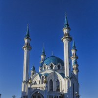 Мечеть Кул-Шариф на восходе :: Сергей Цветков