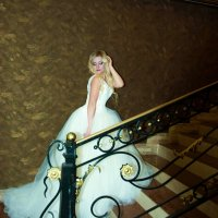 Фотопроект про свадебное  платье :: Albina