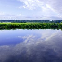 река и небо :: Peteris Kalmuks