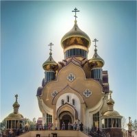 Свято-Ильинский Храм Славутича. :: Константин Ушмаев