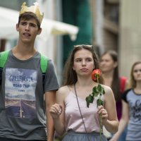 С розой в руке :: Александр Степовой