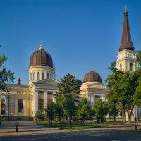 Июльское утро на Соборке. :: Вахтанг Хантадзе