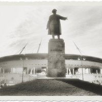 Эх.. нам  большевикам.., да такие бы  стадионы..)) 100лет назад..)) :: tipchik