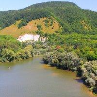 Не нужен нам берег турецкий и Африка нам  не нужна... Бекешевское озеро с высоты птичьего полёта. :: Vladimir 070549