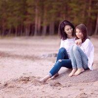 Мама и дочь :: Анна Кокарева