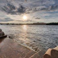 Закат над Невой :: Александр Кислицын