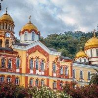 Новоафонский монастырь.Абхазия. :: Александр Рамус