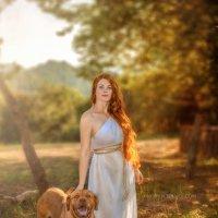 Девушка с собакой :: Андрей Володин