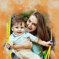 Мама и сын :: Михаил Латшин