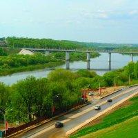 Мост через Оку. :: Александр Атаулин