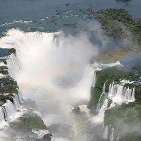Глотка дьявола на водопадах Игуасу :: Vitalet