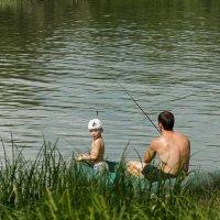 На реке. :: Александр