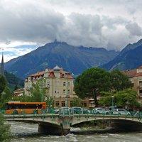 Мерано расположен на северо-востоке Италии в окружении красивых гор группы Тесса... :: Galina Dzubina