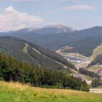 Буковель, панорамный снимок :: Наталия Каминская