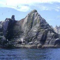 Микроскопический остров Малый Скеллиг. Ирландия :: Марина Домосилецкая