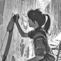 юная художница :: леонид логинов