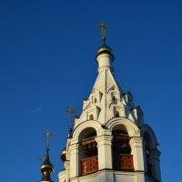 Храм Благовещения Пресвятой Богородицы - колокольня :: Александр Буянов