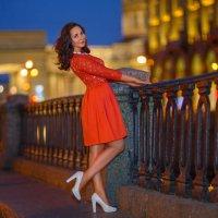 прогулка по вечернему Санкт-Петербургу :: Ирина Симухова