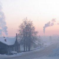 морозное утро :: леонид логинов