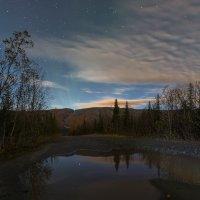 Ночь в Хибинах :: Владимир Колесников