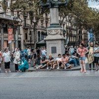 Барселона,Рамбла :: Bob