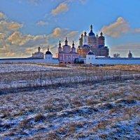 Свенский монастырь зимой :: Дубовцев Евгений