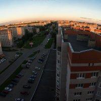 Вологда в лучах заката :: Татьяна Копосова