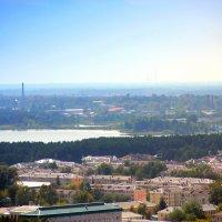 Мой город с высоты. :: Вадим Басов
