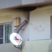 Тарелка TV на паровой тяге с водно-бачковым инструментом ;-) :: Alexey YakovLev