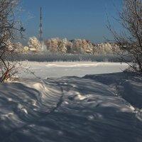 Январским днём на Ангаре... :: Александр Попов