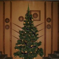 Новогодняя   ёлка   в    Ивано - Франковске :: Андрей  Васильевич Коляскин