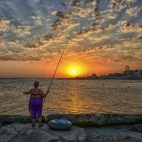 Легендарная рыбачка Соня (эпическое полотно) :: Александр Бойко