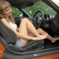 Nissan Z Fairlady пытаемся жать пидали :: Юрий Плеханов