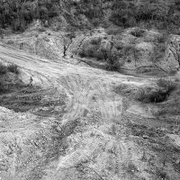 Песчаный карьер ... :: Лариса Корженевская