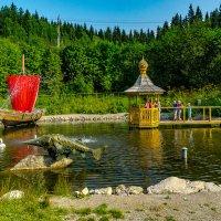 На пруду у Чусового :: Валерий Симонов