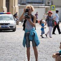 чудак или фотограф :: Олег Лукьянов