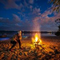 Люблю смотреть на огонь... :: Наталия Горюнова