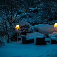 Вечер в Альпах... :: алексей афанасьев