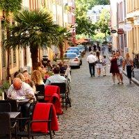 Пешеходная зона,одна из протяженных  (1.6 км) в Германии. :: Людмила Шнайдер