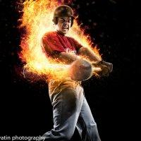 бейсболист в огне :: Максим Апрятин