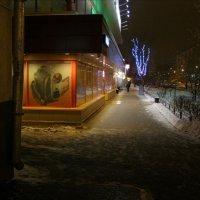 Саянская ул. зимой :: Анна Воробьева