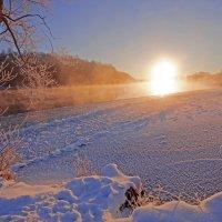 Солнце взошло над Десной :: Дубовцев Евгений