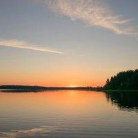 Восход Солнца. Кесьма. :: Александр (Алчи) Шерстнёв