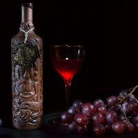 Натюрморт с грузинским вином :: Александр Синдерёв
