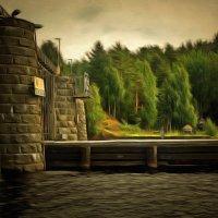 У моста... :: Tatiana Markova