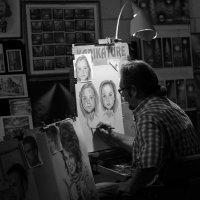 Вечерняя работа... :: Андрей Илларионов
