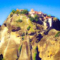 Спасский монастырь в Метеорах :: Лара Амелина