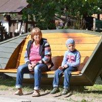 бабушка и внук :: Наталия Кожанова
