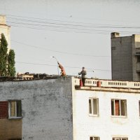 Играющие с огнем... :: Андрей Головкин