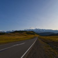 Взгляд на Северо -Чуйский хребет. :: Валерий Медведев